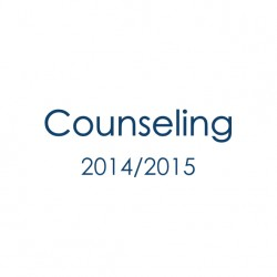 Counceling 2014/2015